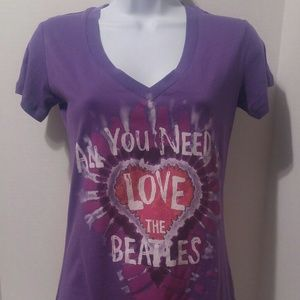 All You Need Is Love Beatles Tee Shirt Size M